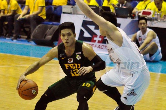 Arong basket, Orizu defensive gems help FEU Tamaraws survive scare from UP Maroons