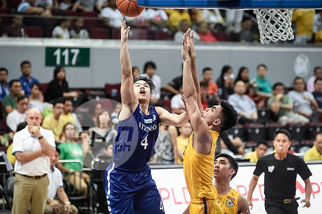 Anton Asistio emerges from family of golfers, finds own niche in basketball