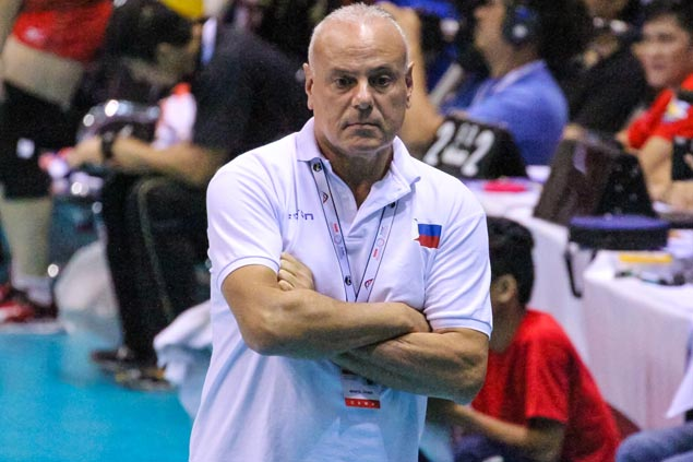Italian Fabio Menta out as Foton coach just weeks after coming onboard