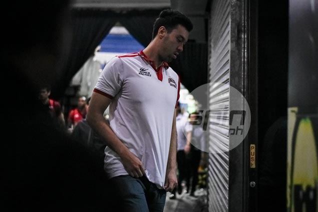 Injured Greg Slaughter puts on brave face: 'This is just a setback and not the end'