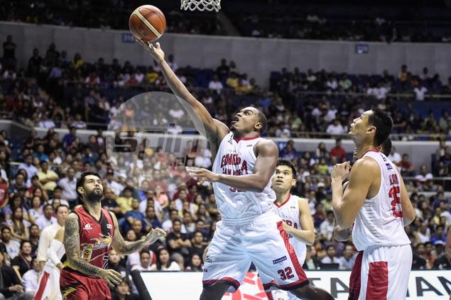 Sol Mercado, Justin Brownlee spark Ginebra comeback against SMB in Game One