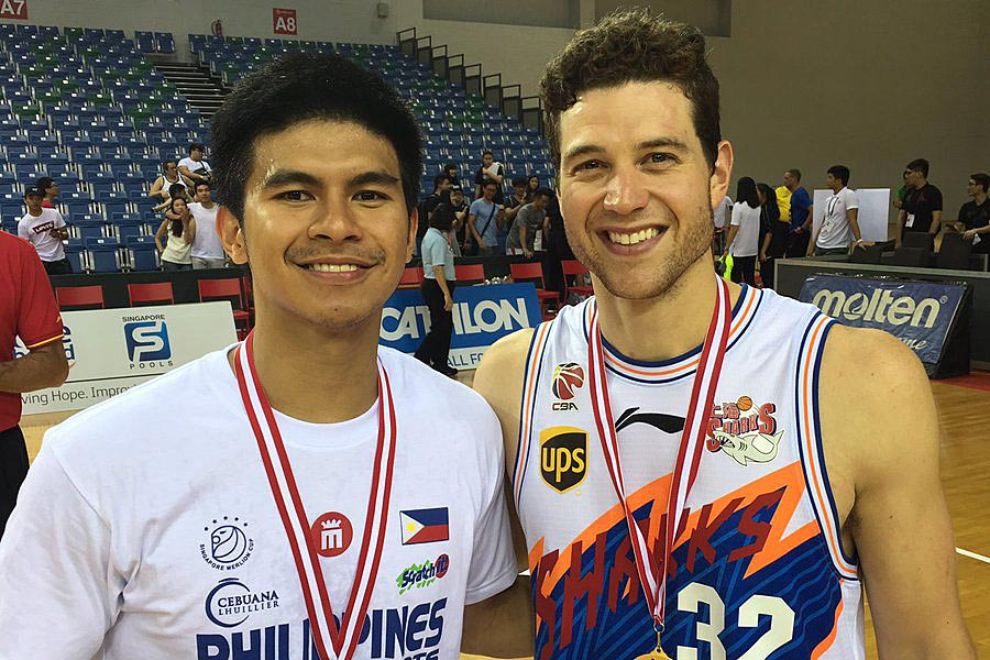 Kiefer Ravena thankful for words of encouragement from Fredette after Merlion Cup face-off