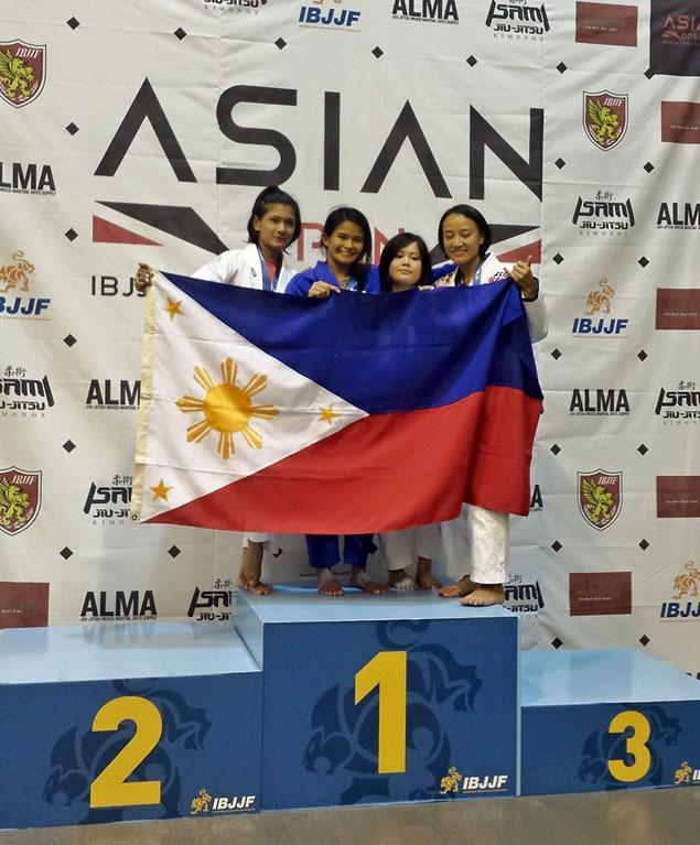 Petite jui-jitsu bet Meggie Ochoa hands PH first gold medal in Asian Beach Games