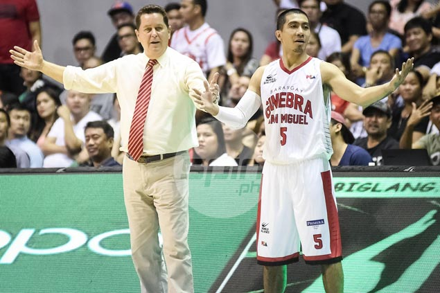 Tim Cone convinced scoreless outing by LA Tenorio just an anomaly
