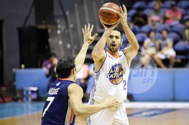 TNT sharp-shooter Mike Madanly proves a thorn in side of Meralco Bolts