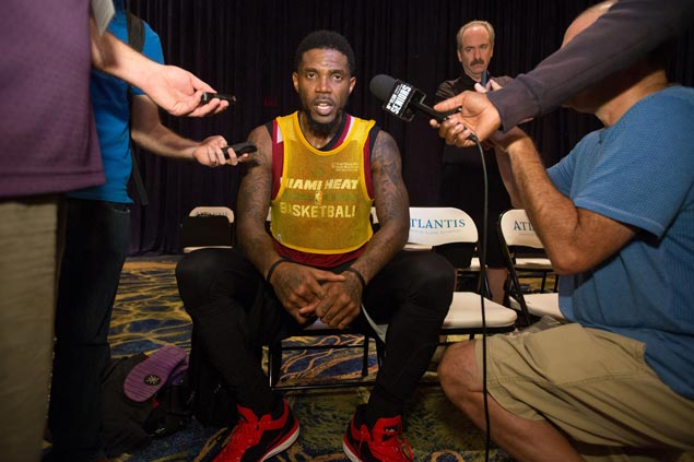 Udonis Haslem signs one-year, $2.3M deal to play 15th season with Miami Heat