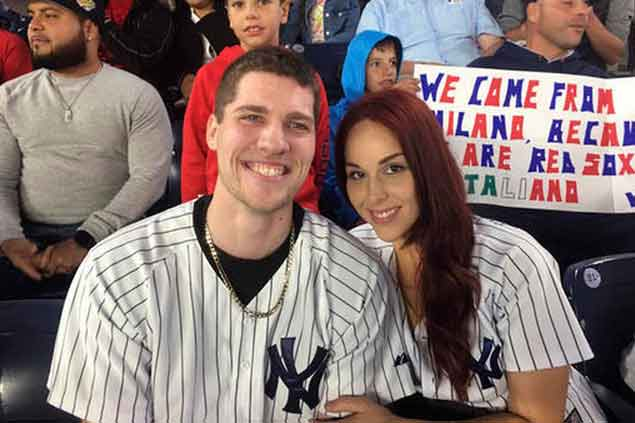 Fan drops ring during televised Yankee Stadium proposal, but still finds happy ending