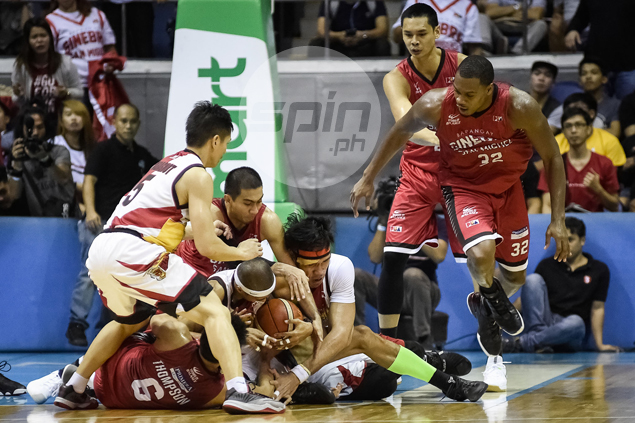 San Miguel weathers Ginebra comeback this time, ties PBA semifinal series at 1-1