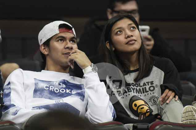 Kiefer Ravena feels itch to play, but convinced Ateneo just fine without him