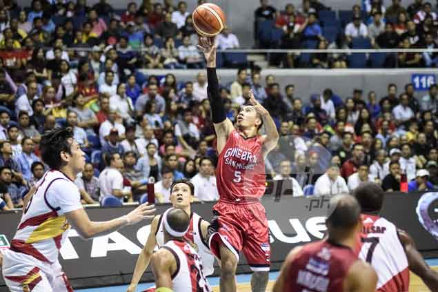 LA Tenorio defiant after loss, says Ginebra has the belief that it can beat SMB