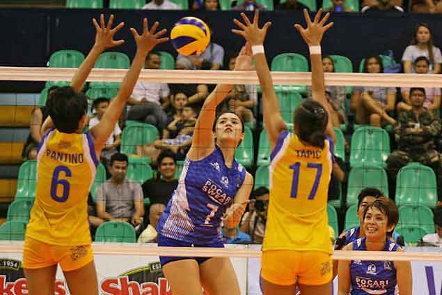 Alyssa Valdez, Gumabao share spotlight with imports in new V-League conference