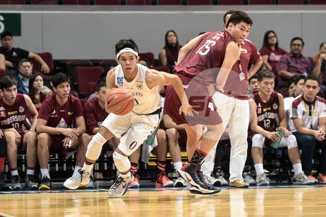 Thirdy Ravena double-double leads Ateneo to second successive win at UP's expense