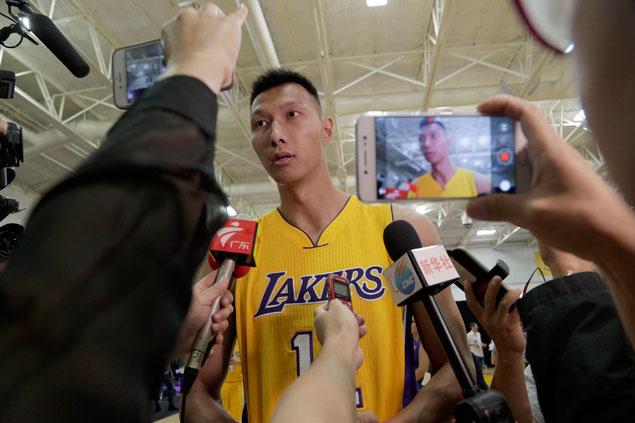 Yi Jianlian seeks release from LA Lakers after frustrating NBA preseason, says report