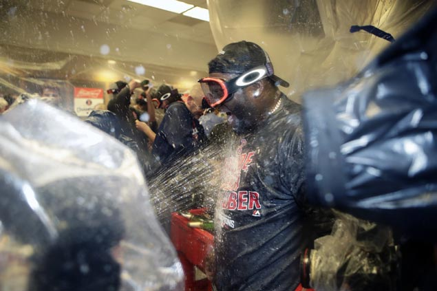 Red Sox go from worst to first anew as Blue Jays loss leads Boston to clinch AL East crown