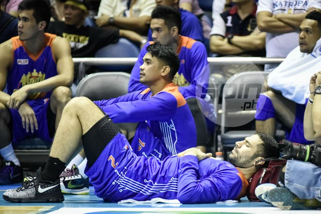 Injury toMike Madanly,Ryan Reyes illness hastened TNT Katropa's downfall