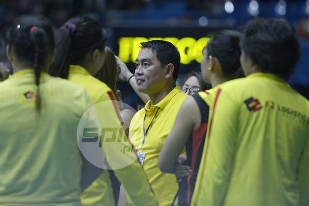 Ramil de Jesus wary of another 'no choice' scenario as F2 Logistics still in search for imports