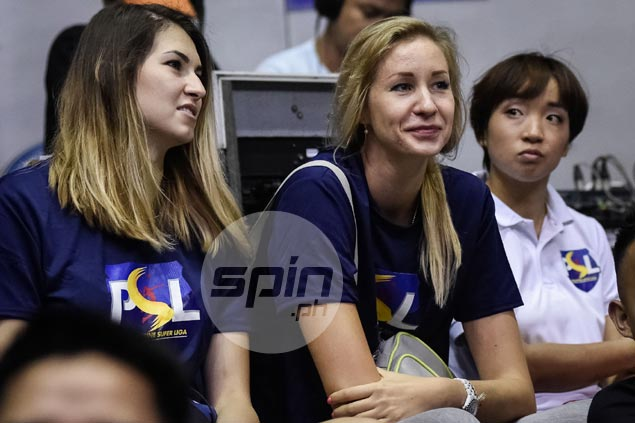 Ukrainian import Nyukhalova calls for girl bonding time to improve PSL Manila chemistry