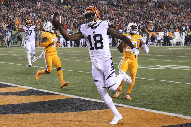 No stopping AJ Green as Bengals bounce back with dominant win over Dolphins