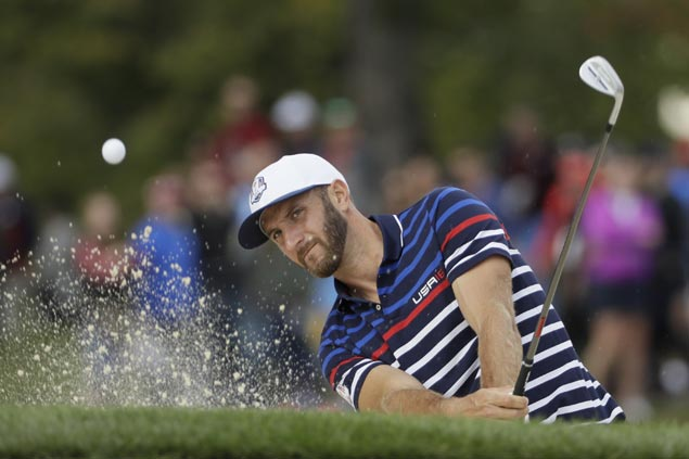 US team needs short memory to overcome Europe dominance in Ryder Cup, says Dustin Johnson