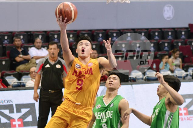Red Robins pull away in fourth against Greenies to march on to NCAA Season 92 juniors finals