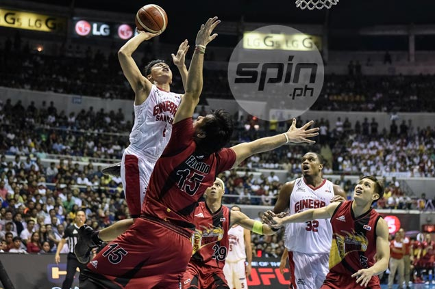 Scottie Thompson unaware of triple double: 'Wala akong ibang iniisip kundi manalo'