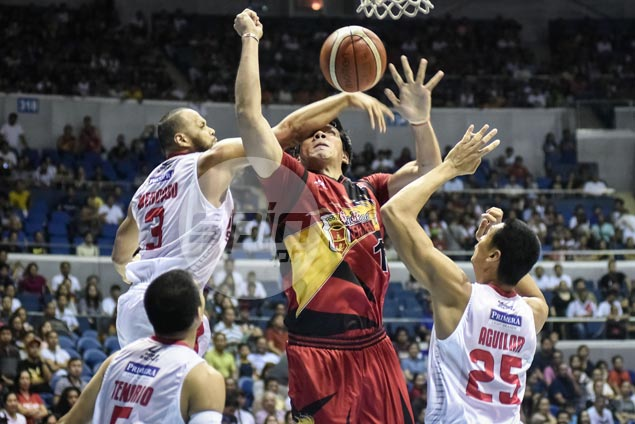 June Mar Fajardo says SMB needs to avoid endgame miscues, hurried shots to extend semis series