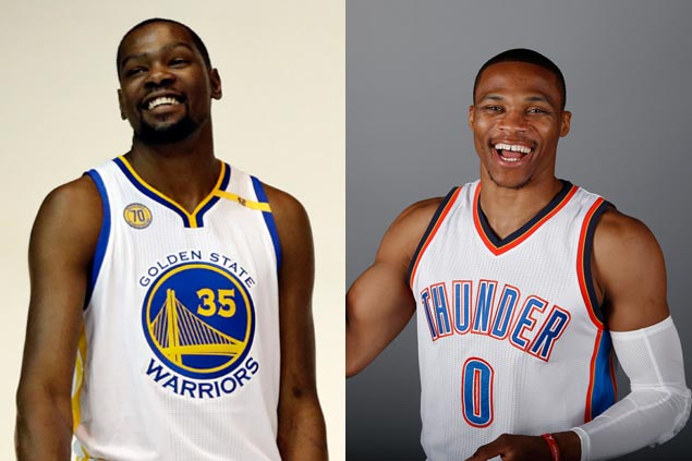 Kevin Durant, Russell Westbrook 'never really valued each other' at OKC, says Kendrick Perkins