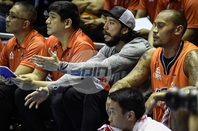 Injured Jared Dillinger still hoping against hope of helping Meralco makes first ever finals stint