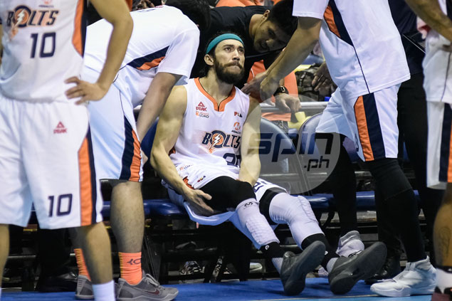 Jared Dillinger skips Game 3 of PBA semis due to hamstring injury, status remains day to day, says management