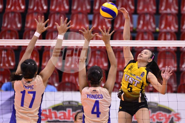 Undermanned UST proves too strong to stun Air Force and open V-League stint on winning note