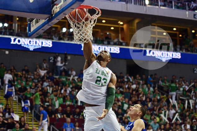 Game full of Ben Mbala highlights as La Salle beats rival Ateneo black and blue