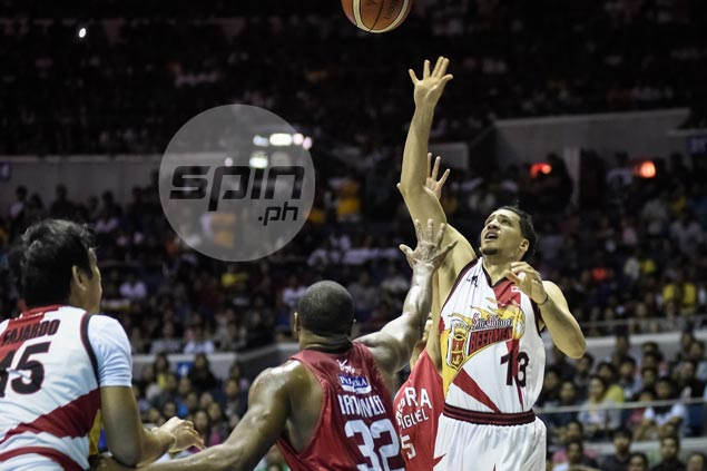 Marcio Lassiter on fire as SMB denies Ginebra to send PBA semis to sudden-death
