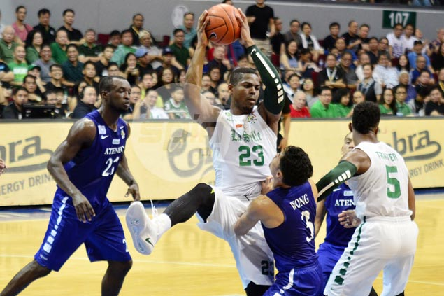 For the second time this season, Ben Mbala given UAAP Player of the Week citation