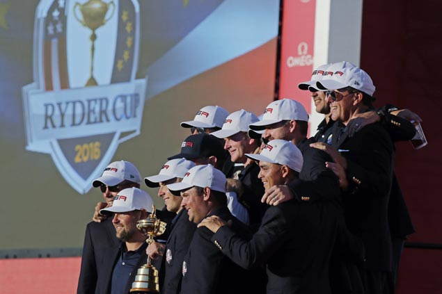 US completes Ryder Cup romp to put an end to Europe's run of three straight victories