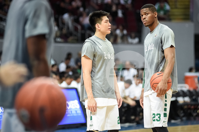 Ben Mbala says La Salle ready 'mentally and physically' to avenge loss to Ateneo