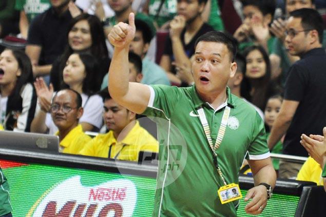 Deep bond between Aldin Ayo, assistant Louie Gonzales help sustain La Salle 'mayhem' run