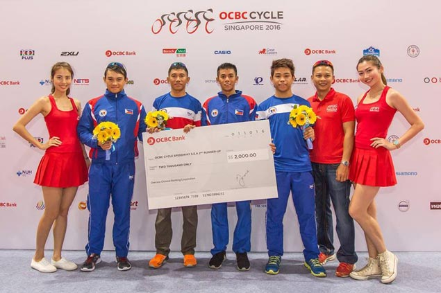 Jan Paul Morales, George Oconer power Philippine cycling team to bronze in Singapore race
