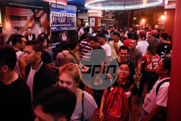 PBA hopeful of box-office records as tickets for Games One, Two almost sold out