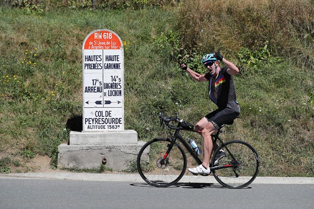 Unique race gives amateur cyclists shot at tough Pyrenees climbs of Tour de France