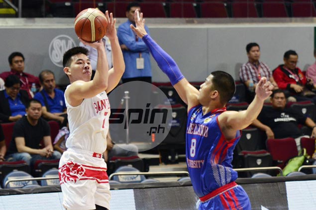 San Beda back on track in bid for eighth straight juniors title as Red Cubs turn back Arellano Braves