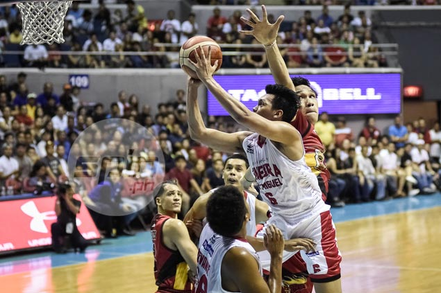 Failure to make finals with Perpetual drives Scottie Thompson to do better at Ginebra