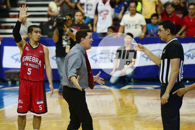 Wondering why referee Edward Aquino isn't officiating in PBA playoffs? Here's why