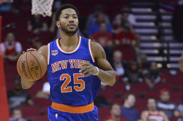 Derrick Rose waves off talk of grudge matches ahead of Knicks game at Bulls