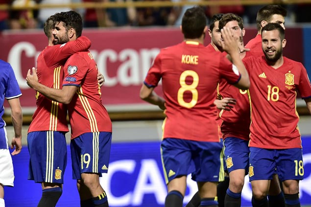 Surging Spain eyes payback against rival Italy in anticipated clash at World Cup qualifiers