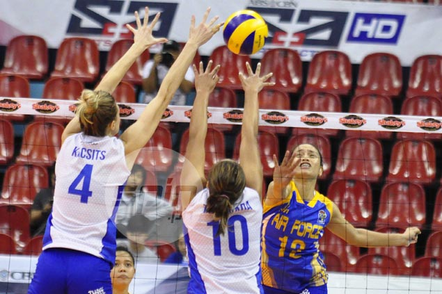 All-Filipino Air Force downs import-bannered Pocari Sweat in five-set thriller