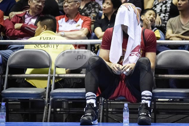 June Mar Fajardo couldn't care less about MVP treble after San Miguel letdown