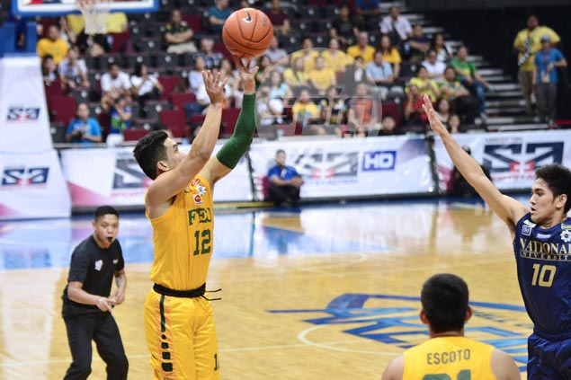 FEU overcomes J-Jay Alejandro career game to take down NU, grab solo second