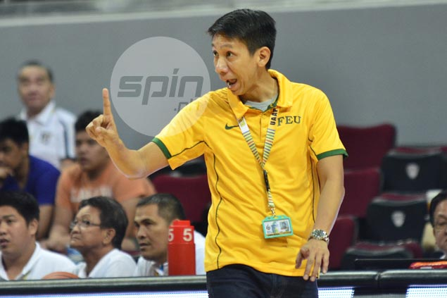 FEU proving doubters wrong with second place finish in first round, says Nash Racela
