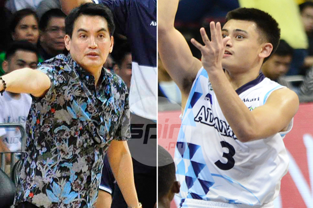 Falcons guard Nikko Paranada finally lives up to Casio comparisons from Franz Pumaren