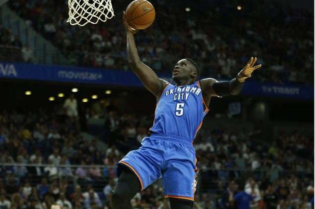 Victor Oladipo scorching debut gives Thunder enough to move on from Durant departure